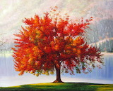 ^ The Autumn Tree ~ Ted Drakness