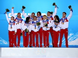 Russian Olympic games champions