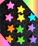Edible Star Decorations