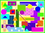 Colour Rectangles & Shapes