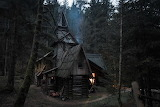 A cabin in the bosnian forest