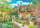 The Old Cottage-Jigsaw Puzzle-painting