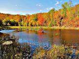 Autumn Colors Elliot Lake Canada