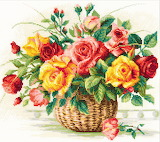 #Whimsey Cross Stitch Flower Bouquet