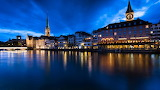 Zurich Switzerland Water Front