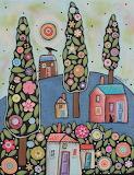 Blue Hill Landscape - Karla Gerard