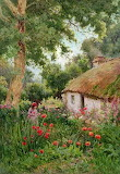 A Cottage Garden, Tom Clough