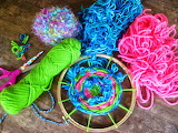 ^ Embroidery that's colorful