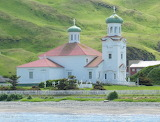 Russian Orthodox Church on Unalaska Island,