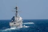 Destroyer and submarine
