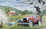 Spring Blossoms by John Sloane