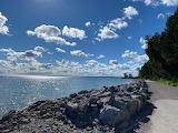 Mackinac Island Sunny Shore by Emily Sannes Mecham