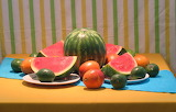 #Watermelon and Stripes