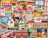 50's Diner Collage