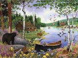 J Charles - Afternoon at the Lake
