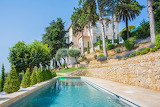 French rural mansion, gardens and pool