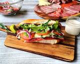 Cold Cut Sub Sandwich
