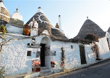 Alberobello village in Italy