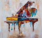 Piano grand color
