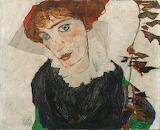 Egon Schiele: Wally (1912)