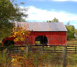 Red Barn Autumn