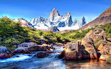 Chile's Patagonia Mountains