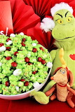 Grinch Candy Popcorn