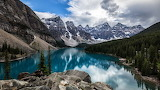 Moraine-Lake-Lake-Louise-Ten-Peaks-Snow-Alberta-Banff-National-P