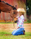 Cowgirl and soul mate