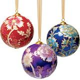 Cloissonne ornaments