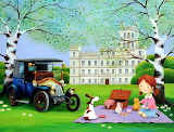 Picnic at the Mansion - Iwona Lifsches