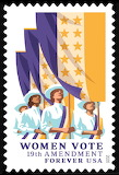 X WOMEN'S VOTE CENTENIAL STAMP - 2020 - USPS ART
