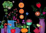 FlowersBloomInDarkToo ElisandrasIllustrations