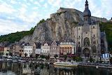 Village of Dinant Belgium