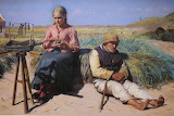 Local Girl and Blindman. Skagen 1880 - Michael Ancher