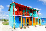 colorful Mexican cottage