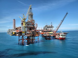 Offshore Platforms and Service Ship