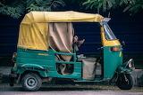 Tuk-tuk Indian taxi
