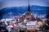 Winter Houses Germany Lengenfeld unterm Stein 521696 1280x853