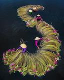 ^ Waterlilies Harvest Season, Tan Lap Commune, Moc Hoa district,