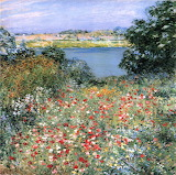 Willard Leroy Metcalf Poppy Garden