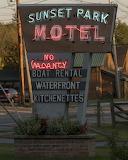 Sunset Park Motel ~ Tupper Lake NY ~ 091217~For Book