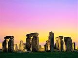 Stonehenge England at night