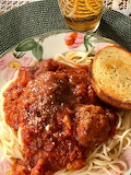 Food - Spaghetti and Meat Balls