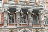Helsinki, ornate façade, Finland