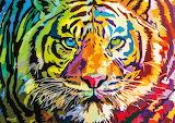 Tiger Art @ puzzlewarehouse.com