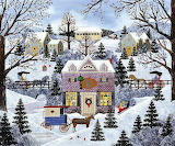 Jane Wooster Scott - A Welcome Winter Glow