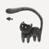"""Art tumblr lustik """"Pointillism drawings"""" """"Malaysian artist Kamwe"""