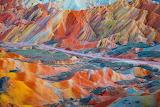 Zhangye Danxia - the rainbow mountains