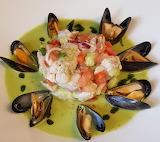 Seafood dish........................................x
